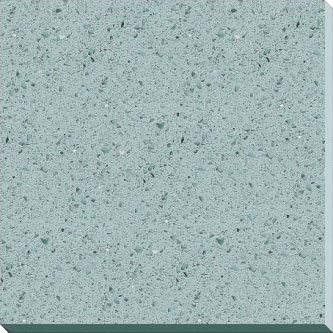 Sky Blue quartz stone tiles, countertops