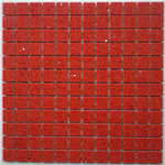 Red Quartz Stone Mosaic Tiles